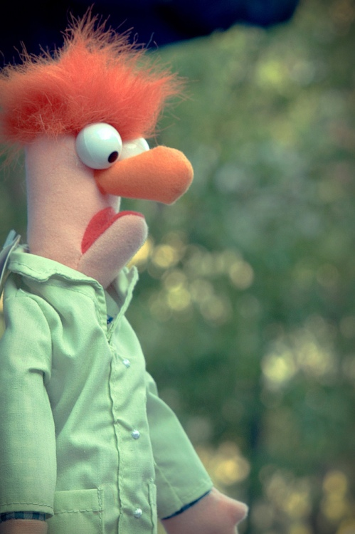 Beaker after a failed test.